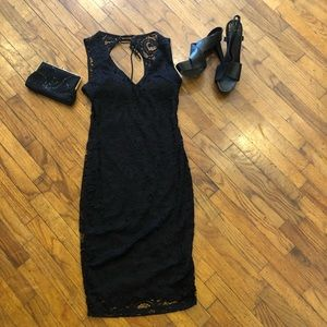 Brand new Black Lace Dress